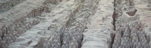 Terakotová armáda v meste Xian