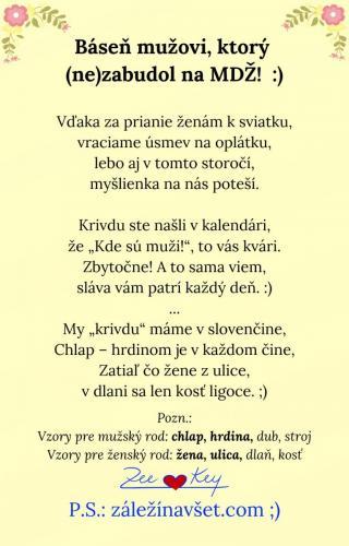 Báseň mužovi