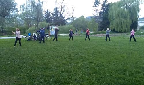 Cvičenie v Brezne